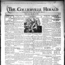 Image of CH 1929.10.11 - Collierville Herald. (Collierville, TN), Vol. 1, No. 33