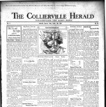 Image of CH 1929.10.18 - Collierville Herald. (Collierville, TN), Vol. 1, No. 34