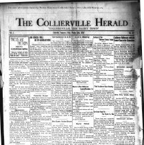 Image of The Collierville Herald October 25, 1929