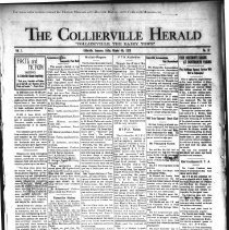 Image of CH 1929.10.04 - Collierville Herald. (Collierville, TN), Vol. 1, No. 32