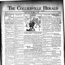 Image of The Collierville Herald November 1, 1929