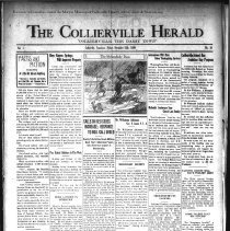 Image of The Collierville Herald November 15, 1929