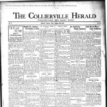 Image of The Collierville Herald November 22, 1929