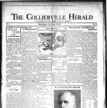 Image of CH 1929.12.13 - Collierville Herald. (Collierville, TN), Vol. 1, No. 42