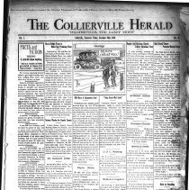Image of CH 1929.12.20 - Collierville Herald. (Collierville, TN), Vol. 1, No. 43