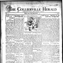 Image of CH 1929.12.06 - Collierville Herald. (Collierville, TN), Vol. 1, No. 41