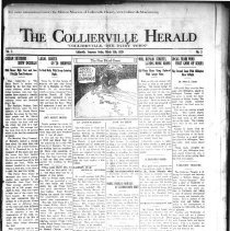 Image of The Collierville Herald March 15, 1929