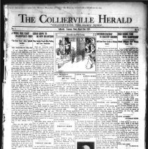 Image of The Collierville Herald March 22, 1929