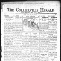 Image of CH 1929.03.29 - Collierville Herald. (Collierville, TN), Vol. 1, No. 5