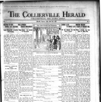 Image of The Collierville Herald Apr. 12, 1929