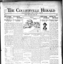 Image of The Collierville Herald April 26, 1929