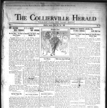 Image of CH 1929.05.17 - Collierville Herald. (Collierville, TN), Vol. 1, No. 12