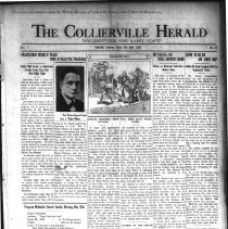 Image of CH 1929.05.24 - Collierville Herald. (Collierville, TN), Vol. 1, No. 13