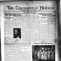 Image of The Collierville Herald May 31, 1929