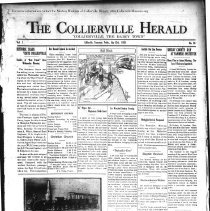 Image of The Collierville Herald July 12, 1929