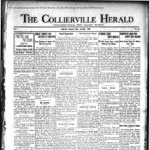 Image of The Collierville Herald July 26, 1929