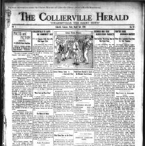 Image of The Collierville Herald August 2, 1929