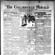 Image of The Collierville Herald September 20, 1929