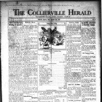 Image of CH 1929.09.27 - Collierville Herald. (Collierville, TN), Vol. 1, No. 31