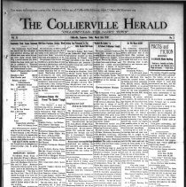 Image of The Collierville Herald March 14, 1930