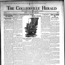 Image of The Collierville Herald April 4, 1930