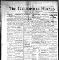 Image of CH 1930.04.11 - Collierville Herald. (Collierville, TN), Vol. 2, No. 7