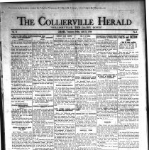 Image of CH 1930.04.18 - Collierville Herald. (Collierville, TN), Vol. 2, No. 8