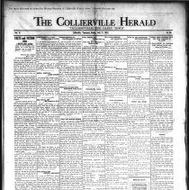 Image of CH 1930.07.11 - Collierville Herald. (Collierville, TN), Vol. 2, No. 20