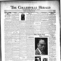 Image of CH 1930.07.18 - Collierville Herald. (Collierville, TN), Vol. 2, No. 21