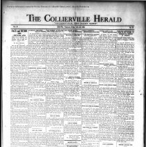 Image of CH 1930.07.25 - Collierville Herald. (Collierville, TN), Vol. 2, No. 22