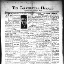 Image of CH 1930.08.01 - Collierville Herald. (Collierville, TN), Vol. 2, No. 23