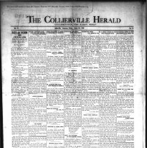 Image of CH 1930.08.22 - Collierville Herald. (Collierville, TN), Vol. 2, No. 26