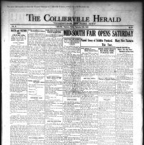 Image of CH 1930.09.19 - Collierville Herald. (Collierville, TN), Vol. 2, No. 30