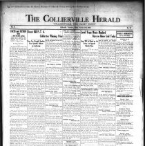 Image of CH 1930.10.17 - Collierville Herald. (Collierville, TN), Vol. 2, No. 34