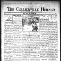 Image of The Collierville Herald January 10, 1930