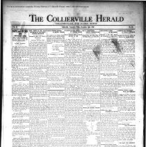 Image of CH 1930.11.14 - Collierville Herald. (Collierville, TN), Vol. 2, No. 38