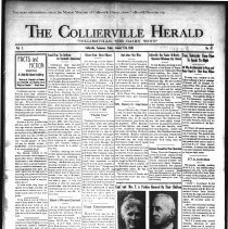 Image of The Collierville Herald January 17, 1930