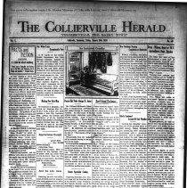 Image of CH 1930.01.24 - Collierville Herald. (Collierville, TN), Vol. 1, No. 48