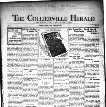 Image of The Collierville Herald January 3, 1930