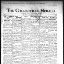 Image of CH 1931.01.02 - Collierville Herald. (Collierville, TN), Vol. 2, No. 45