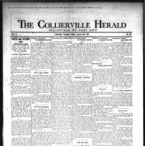 Image of The Collierville Herald January 9, 1931