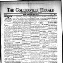 Image of CH 1931.02.13 - Collierville Herald. (Collierville, TN), Vol. 2, No. 51