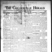 Image of CH 1931.02.20 - Collierville Herald. (Collierville, TN), Vol. 2, No. 52