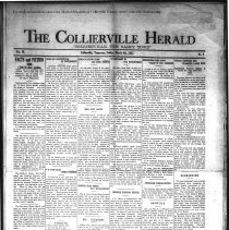 Image of CH 1931.03.06 - Collierville Herald. (Collierville, TN), Vol. 3, No. 2