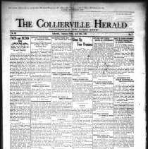 Image of CH 1931.04.10 - Collierville Herald. (Collierville, TN), Vol. 3, No. 7