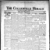 Image of CH 1931.04.24 - Collierville Herald. (Collierville, TN), Vol. 3, No. 9