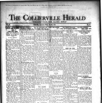 Image of CH 1931.05.08 - Collierville Herald. (Collierville, TN), Vol. 3, No. 11