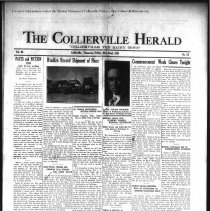 Image of CH 1931.05.22 - Collierville Herald. (Collierville, TN), Vol. 3, No. 13