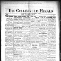 Image of CH 1931.07.17 - Collierville Herald. (Collierville, TN), Vol. 3, No. 21