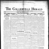 Image of CH 1931.08.28 - Collierville Herald. (Collierville, TN), Vol. 3, No. 27